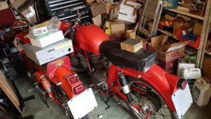 Classic British and Foriegn motorcycle parts and tools