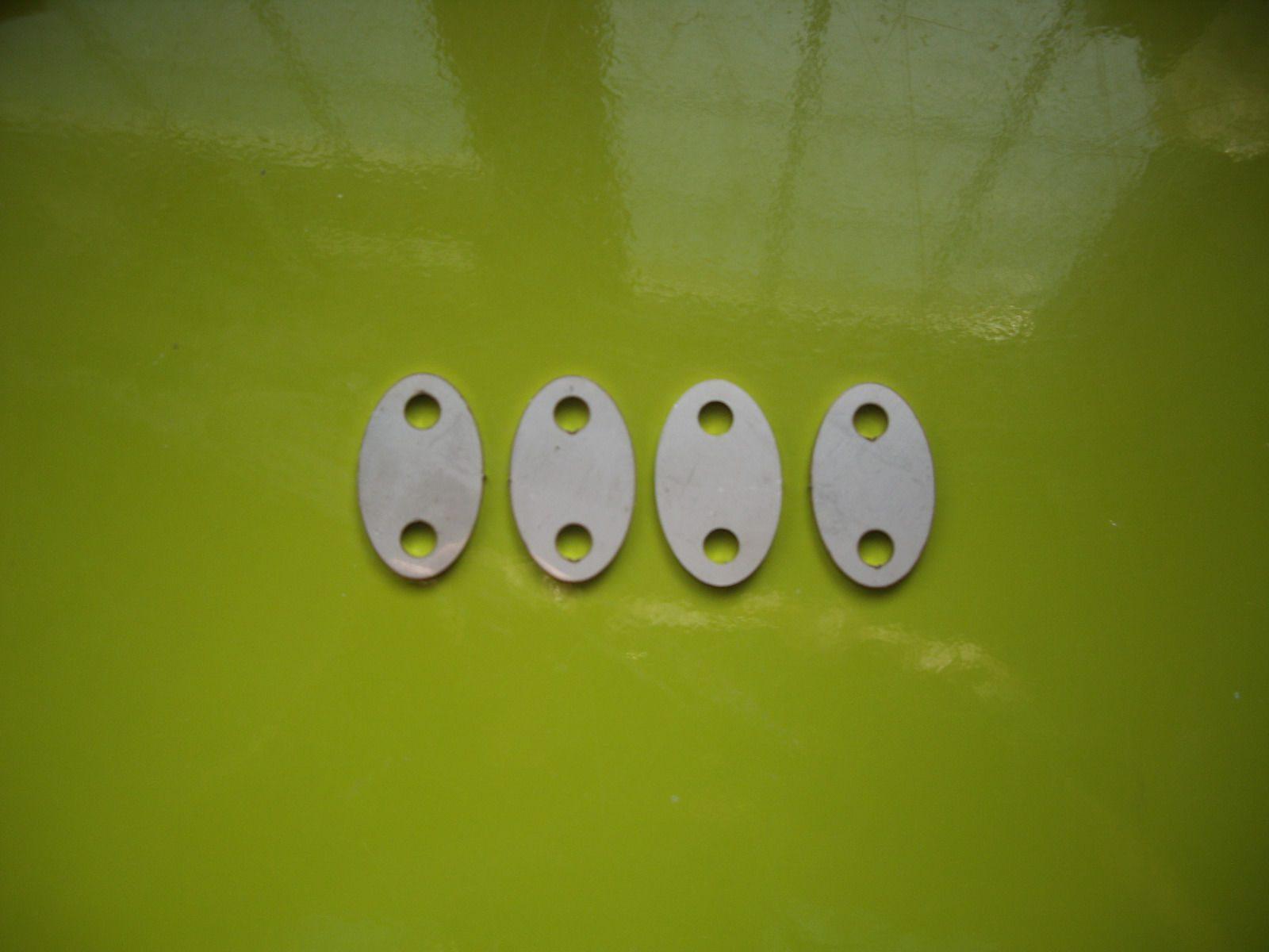 Norton Rocker Shaft Outer Plates Full Set 06-7579