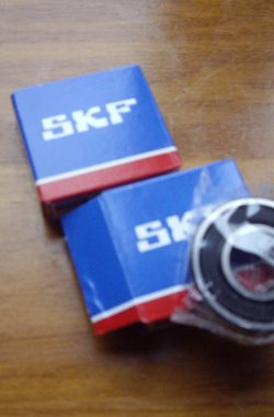 BSA A65 (Conical hub Model) SKF REAR WHEEL BEARING SET