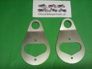 Triton Norton Cafe Race Instrument Speedo Tacho Clock Mounting Brackets