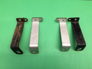 BMW R80RT R100RS R100RT LOWER FAIRING BRACKETS (H185)