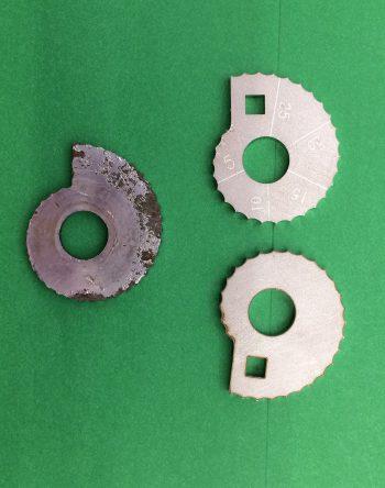 Royal Enfield Bullet Chain Cam Adjusters Snails Pre Q.D. Wheel (H189)