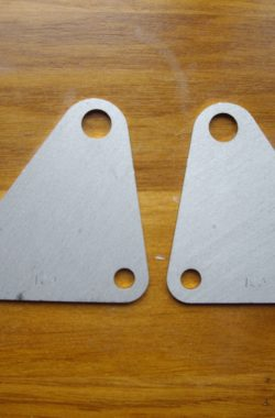 Royal Enfield Bullet Gearbox Mounting Plates Brackets 800120