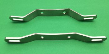 Triumph BSA Top and Bottom Number Plate Brackets 83-6850 83-4784