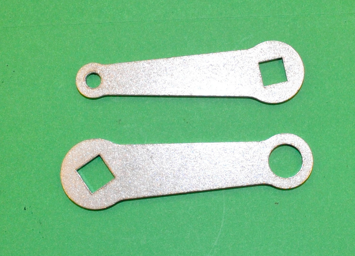 Triumph 3TA Front and Rear Brake Arms 37-1331 37-2015