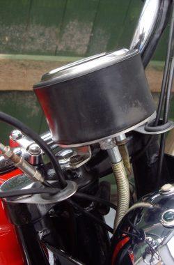 BSA B25 Speedometer Speedo Instrument Bracket