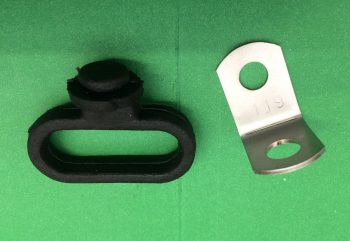 BSA A65 FRONT BRAKE CABLE GUIDE BRACKET 97-3682