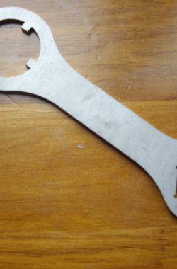 Velocette Shock Nut Fork Top Nut Spanner A229