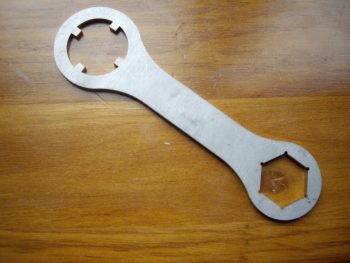 Velocette Shock Nut Fork Top Nut Spanner A229