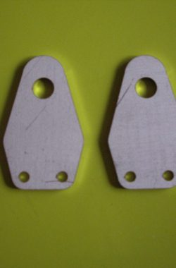 Triumph TR6 T120 Twin Centre Mount Horn Brackets