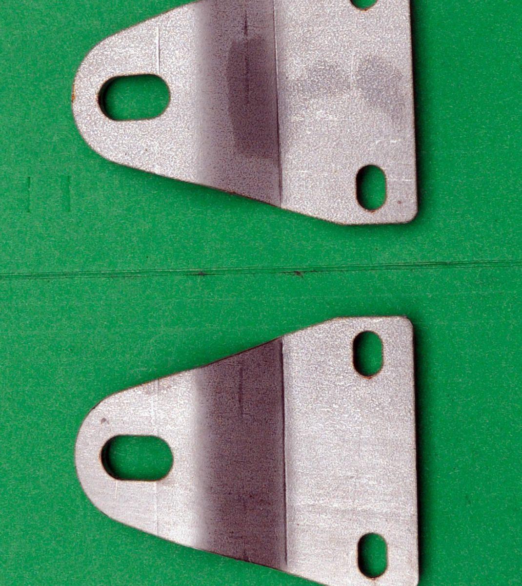 BSA A50 A65 Silencer Mounting Brackets 42-2655