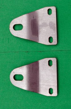 BSA A50 A65 Silencer Mounting Brackets