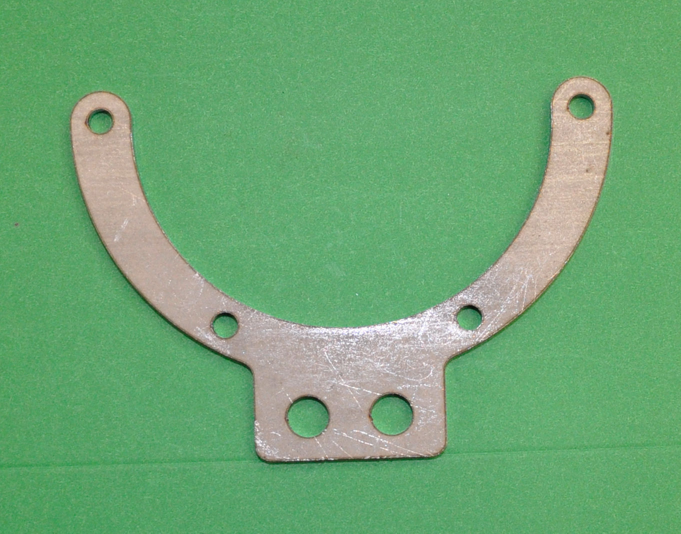 Triumph Bonneville T100 T120 Long Arm Horn Mounting Bracket Post. This is the long arm horn bracket for the post 1969 T100T120 Bonnevilles to carry the Lucas Clear hooter horn.