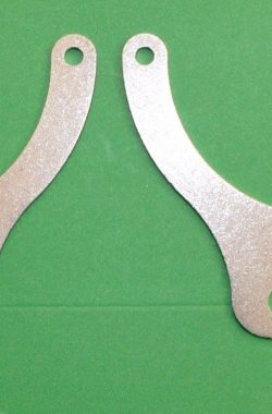 Triumph T150 Trident Horn Mounting Brackets 60-2623 60-2624 (pair)