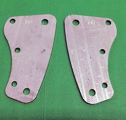 Ariel KH 500 Twin Front Engine Plates 2300-54 1953 to 57