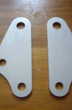 Suzuki DZR400 Head Steady Brackets