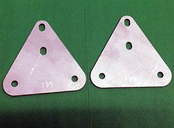NORTON COMMANDO INTERSTATE SILENCER BRACKETS 063132