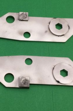 Royal Enfield Bullet Lower Engine Mounting Plates Brackets