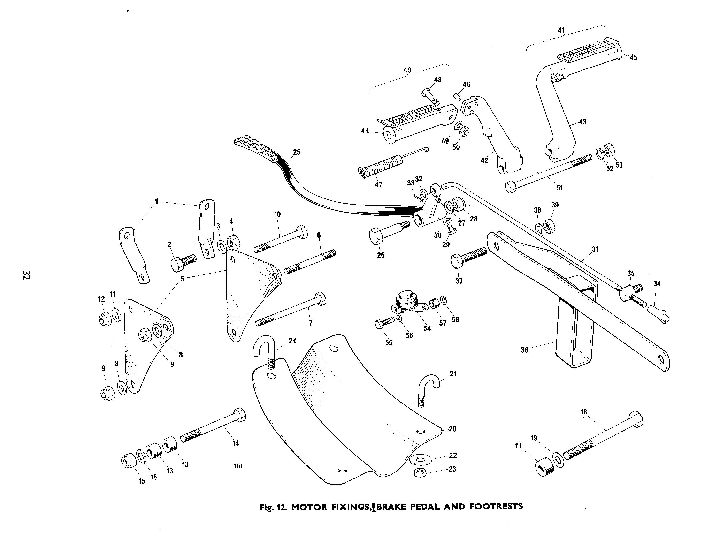 Triumph Tr5t Wiring Diagram For Motorcycle Schematics 1969 Tympanium Trophy Trail Rear Brake Chain Guide Torque Arm Rh Classicbikepartsuk Uk 1970 Spitfire Tiger