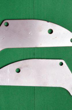 Triumph T150 Pillion Footrest Silencer Hanger Brackets E4711