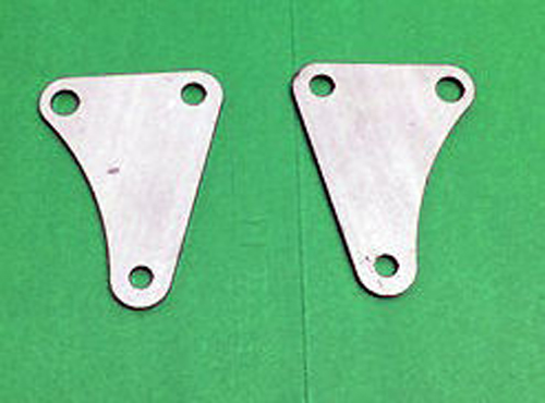 AJS Front Engine Brackets Plates