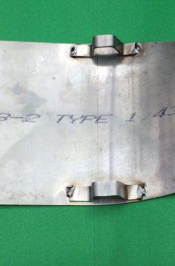 TRIUMPH TR25W SUMP ENGINE GUARD PLATE 82-8819 82-9084