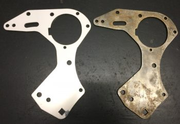 Matchless G3L LS G80 G80S Engine Gearbox Plates 016876