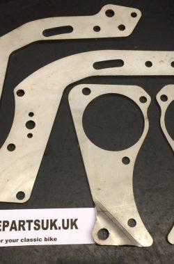 Triumph T110 Engine Gearbox Plates82-3760 82-3541