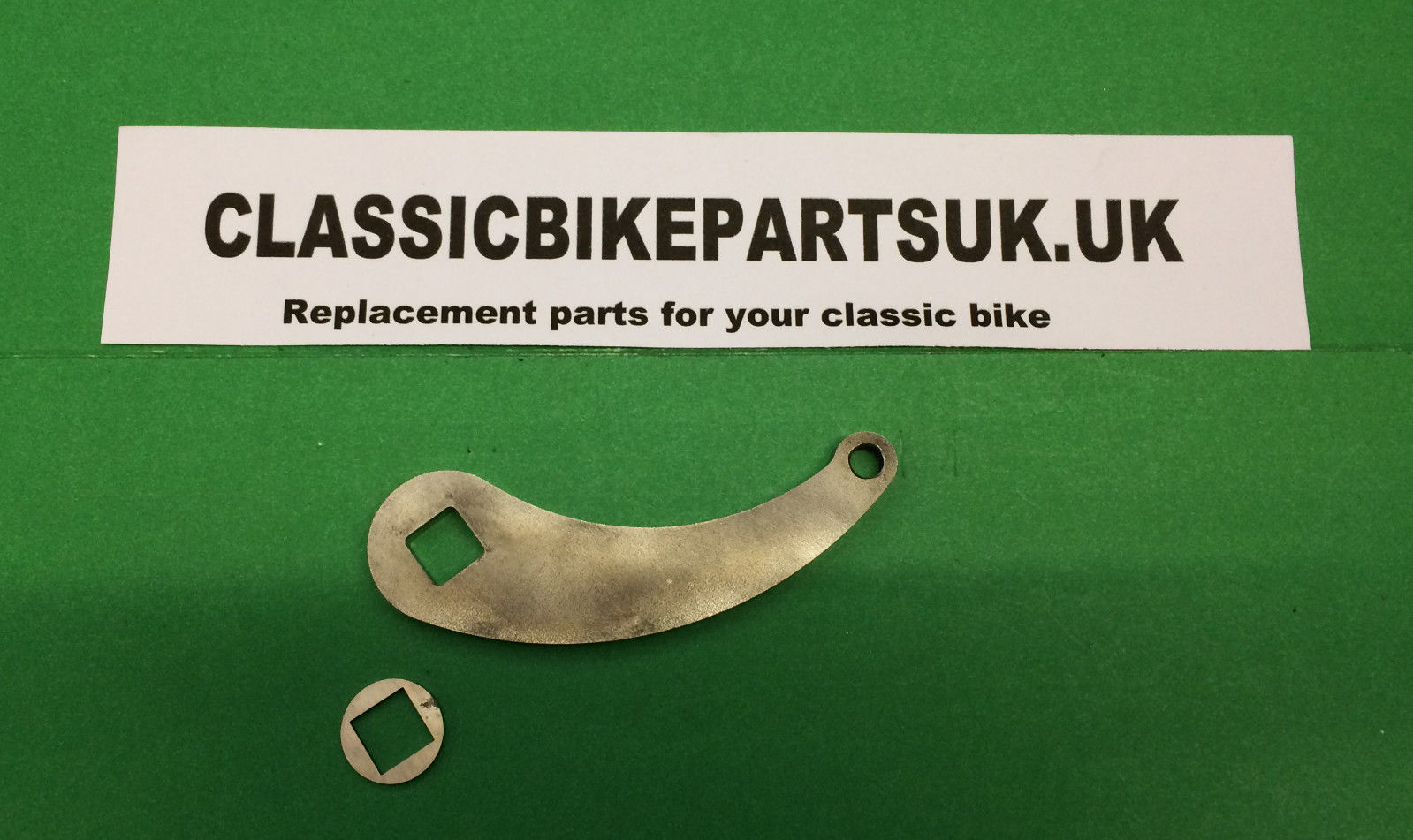 Velocette Front Brake Arm Cam Lever and Washer 82-6064 FK11/5 FB60