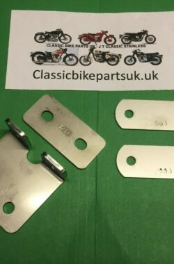 BSA A7 A10 Rear Mudguard Bracket 42-6820 & Inner Support Plates
