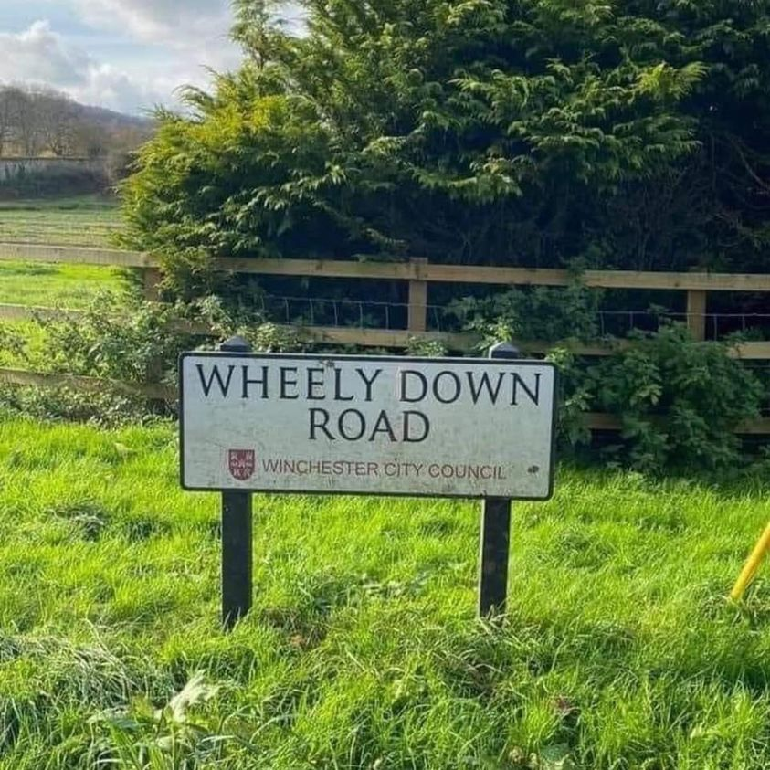 Wheely down road