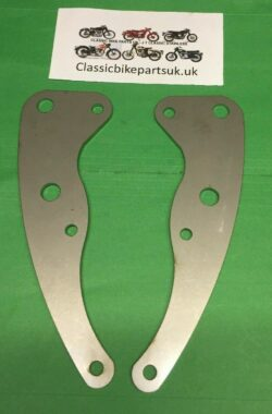 Royal Enfield Continental GT Crusader 43158 9 Front Engine Plates (S446)