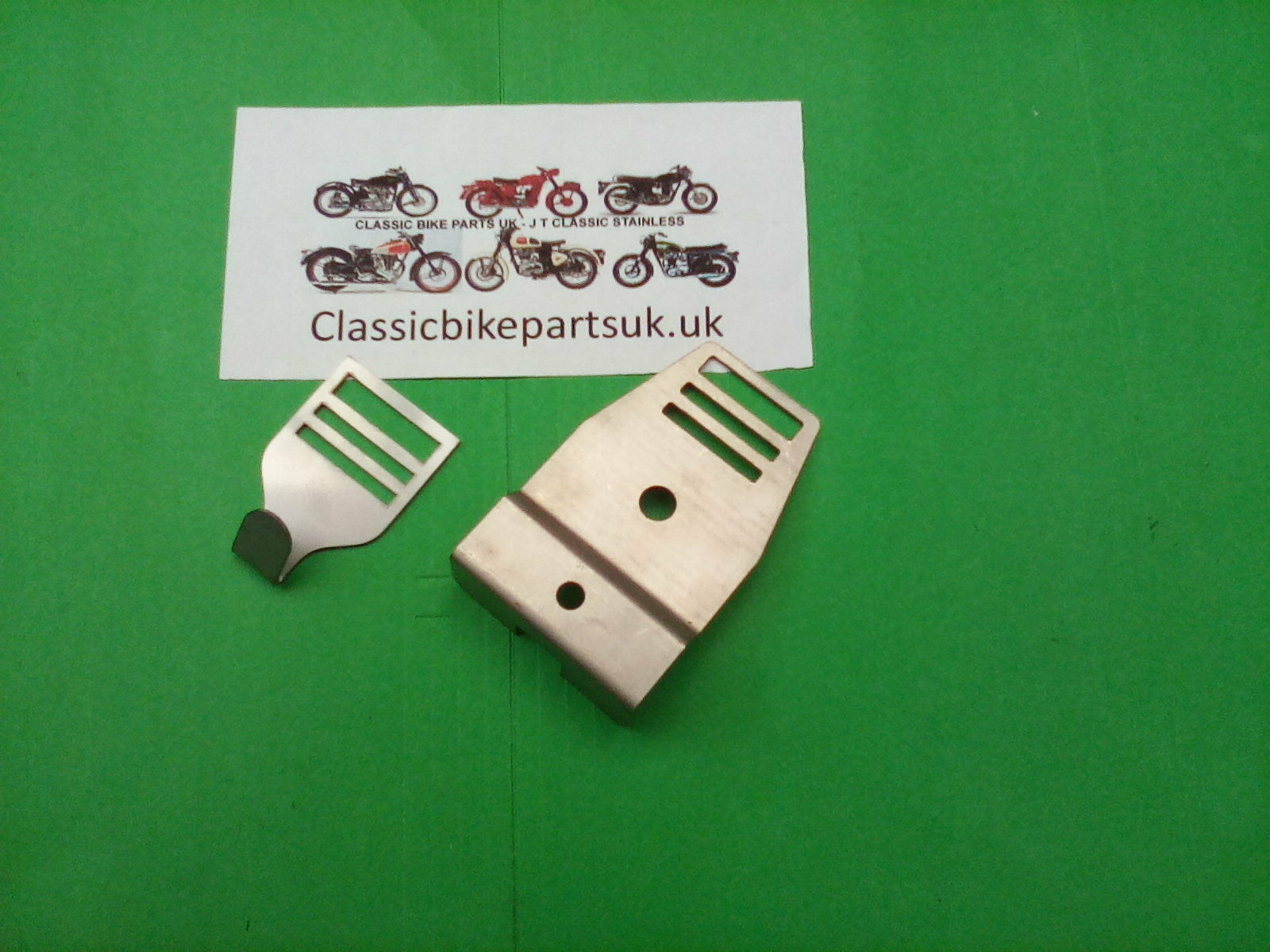 BSA A65 68-4578 BATTERY STRAP BRACKET AND HOOKED BUCKLE (S317 – S47)