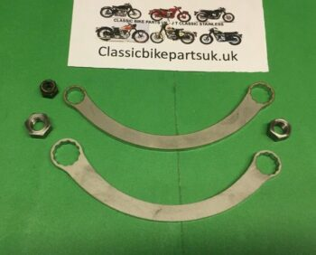 """CLASSIC BIKE CYLINDER HEAD/BARREL 3/16"""" 1/4"""" 5/16"""" WHIT CURVED SPANNERS (S439 - S440)"""