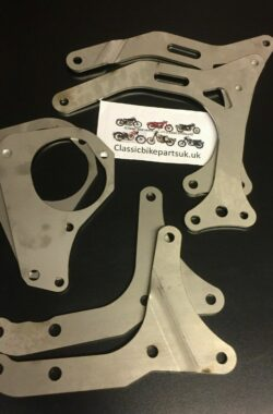 BSA A7 A10 Stainless Steel Engine Gearbox Plates (S461 462 463 464 465)
