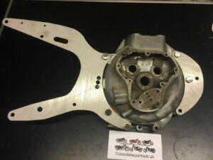 Norton ES2 Featherbed Frame Engine Plates (S382/3)