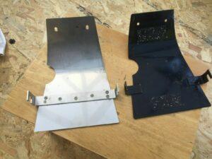 BSA A65 A70 Sump Guard Bash Plate 83-3136 (S392)