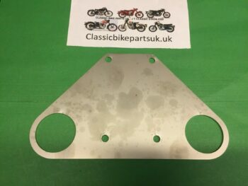 Velocette LE Front Mud Guard Support Plate LE337 (S474)