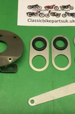 Triumph TR25W Front Tidy Kit SLS Brake Arm, Speedo, Mudguard and Cable Guides