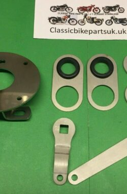 Triumph TR25W Front Tidy Kit TLS Brake Arms Speedo, Mudguard and Cable Guides