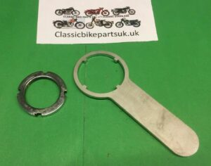 Velocette LE Fork Seal Collar Nut Tool (S481)