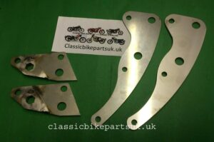 Royal Enfield Continental GT Crusader 250cc Engine Plate Set (S446) (S450)