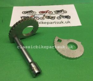 Royal Enfield Bullet Rear Wheel Chain Adjusting Snail Cams (S110)