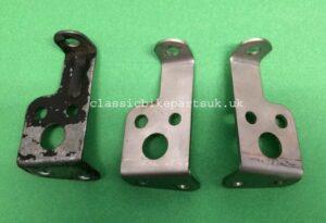 HONDA CB72 CB77 Rear Air Filter Brackets 17243-268-000 (H266)