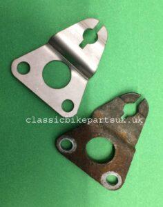 HONDA CB72 CB77 ENGINE COVER STOPPER PLATE 11942-268-000 (H264)
