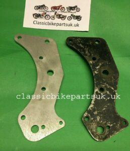 Vincent Rapide Black Shadow FT5 Pivot Bearing Plate (S517)