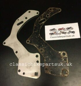 Matchless AJS Twin AMC Engine Gearbox Plates 022291-2 (S310)