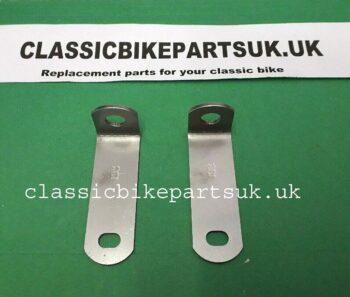 BSA A65 Exhaust Downpipe Brackets (H361)