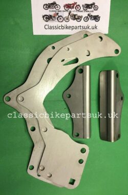 Matchless AJS Twin Engine Plate Set 022291-2 013943-4 (S310) (S502)