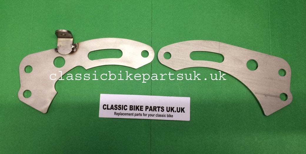 Matchless G2 Engine Gearbox Plates Mounting Brackets (H281)